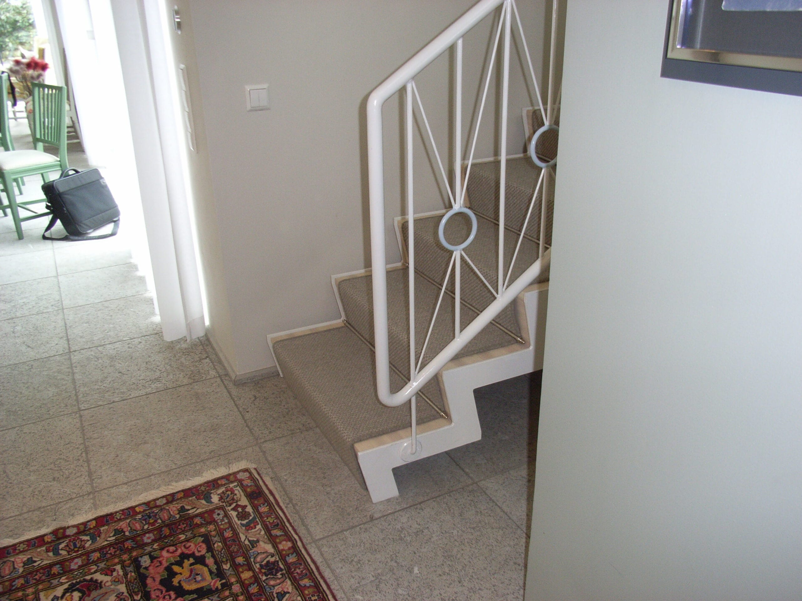 Skapandet av en interiör trappa