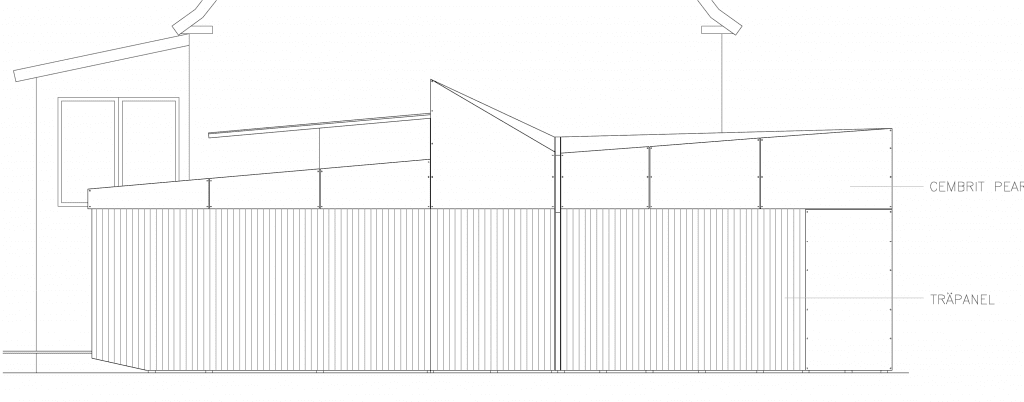 fasad norr