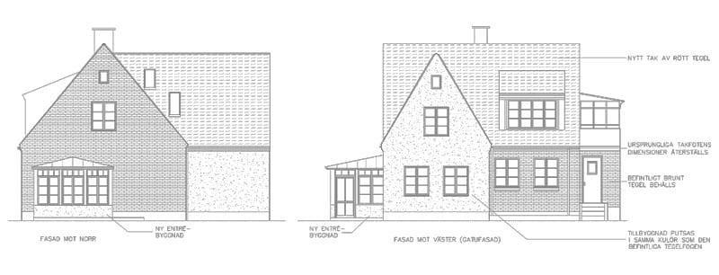 Bygglov tillbyggnad på Limhamn