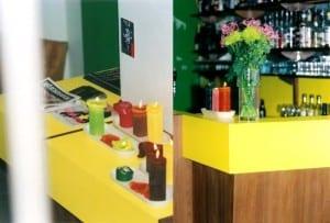 Inredning till Restaurang Mandarin