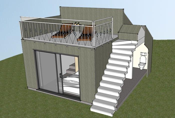 Tillbyggnad vid Oresund